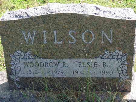 WILSON, WOODROW R - Meigs County, Ohio | WOODROW R WILSON - Ohio Gravestone Photos
