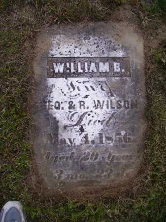 WILSON, WILLIAM B. - Meigs County, Ohio | WILLIAM B. WILSON - Ohio Gravestone Photos