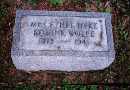 WOLFE, ETHEL - Meigs County, Ohio | ETHEL WOLFE - Ohio Gravestone Photos