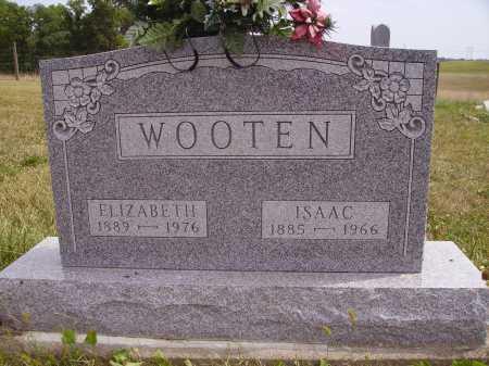 WOOTEN, ELIZABETH - Meigs County, Ohio | ELIZABETH WOOTEN - Ohio Gravestone Photos