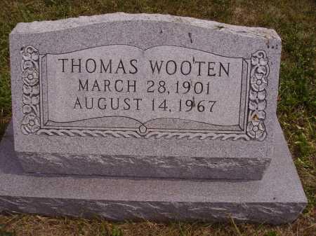 WOOTEN, THOMAS - Meigs County, Ohio | THOMAS WOOTEN - Ohio Gravestone Photos