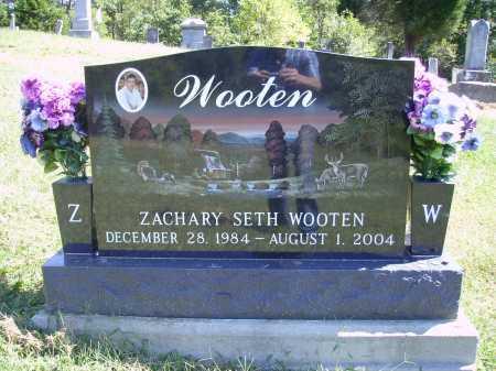 WOOTEN, ZACHARY SETH - Meigs County, Ohio | ZACHARY SETH WOOTEN - Ohio Gravestone Photos