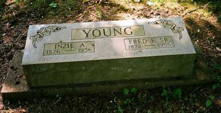 SAFRIED YOUNG, INZIE A. - Meigs County, Ohio   INZIE A. SAFRIED YOUNG - Ohio Gravestone Photos