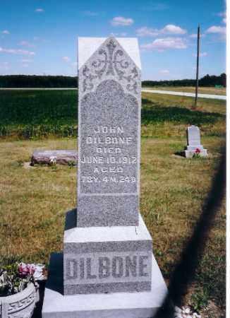 DILBONE, JOHN - Mercer County, Ohio | JOHN DILBONE - Ohio Gravestone Photos