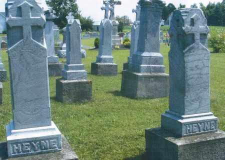 HEYNE, JOHANNES 1890 - Mercer County, Ohio | JOHANNES 1890 HEYNE - Ohio Gravestone Photos