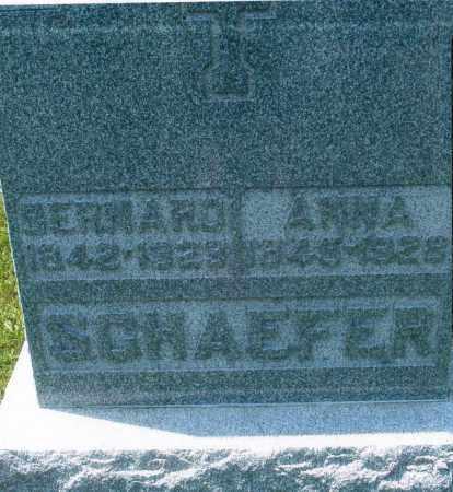 SCHAEFER, ANNA - Mercer County, Ohio | ANNA SCHAEFER - Ohio Gravestone Photos