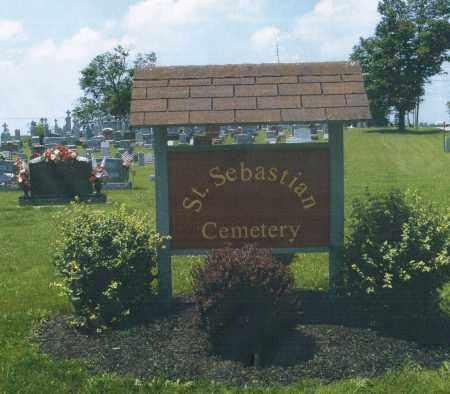 ST.SEBASTIAN, CEMETERY ENTRANCE - Mercer County, Ohio   CEMETERY ENTRANCE ST.SEBASTIAN - Ohio Gravestone Photos
