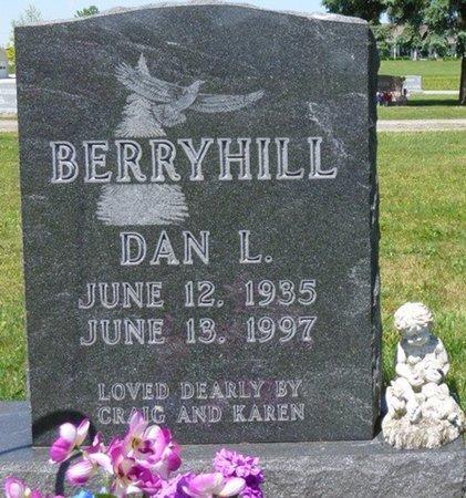 BERRYHILL, DANIEL LOWELL - Miami County, Ohio | DANIEL LOWELL BERRYHILL - Ohio Gravestone Photos