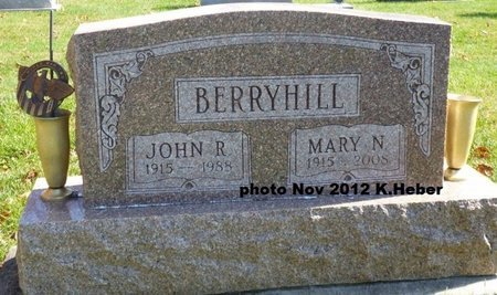 BERRYHILL, MARY N - Miami County, Ohio | MARY N BERRYHILL - Ohio Gravestone Photos