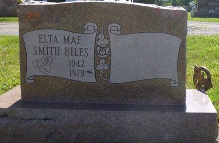 BILES, ELTA MAE - Miami County, Ohio | ELTA MAE BILES - Ohio Gravestone Photos