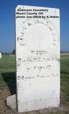 CARMONY, RHODA - Miami County, Ohio | RHODA CARMONY - Ohio Gravestone Photos