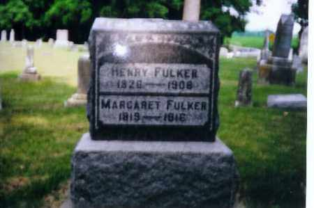 FULKER, MARGARET - Miami County, Ohio | MARGARET FULKER - Ohio Gravestone Photos