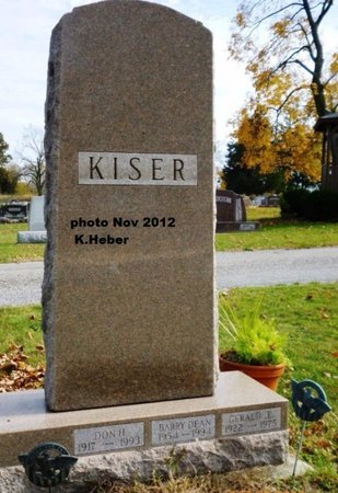 KISER, BARRY DEAN - Miami County, Ohio | BARRY DEAN KISER - Ohio Gravestone Photos