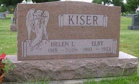 KISER, ELBY - Miami County, Ohio | ELBY KISER - Ohio Gravestone Photos