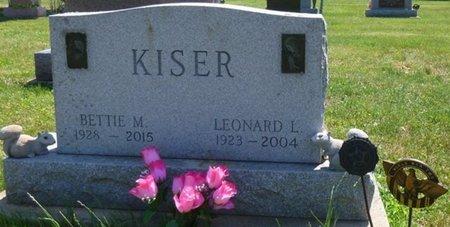 KISER, LEONARD LESTER - Miami County, Ohio | LEONARD LESTER KISER - Ohio Gravestone Photos