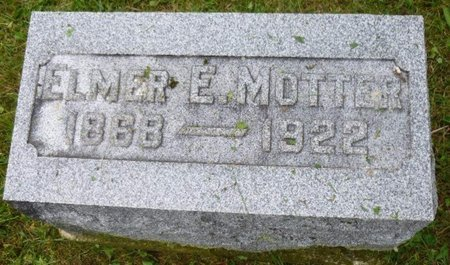 MOTTER, ELMER - Miami County, Ohio | ELMER MOTTER - Ohio Gravestone Photos