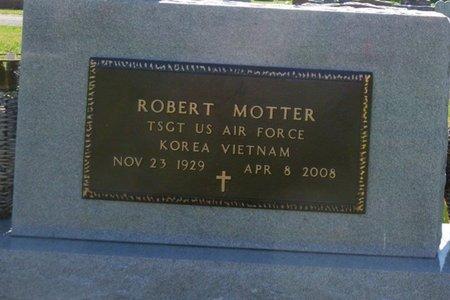MOTTER, ROBERT D - Miami County, Ohio | ROBERT D MOTTER - Ohio Gravestone Photos