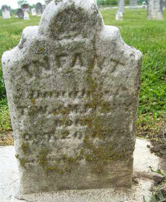 PENNY, INFANT DAUGHTER - Miami County, Ohio | INFANT DAUGHTER PENNY - Ohio Gravestone Photos