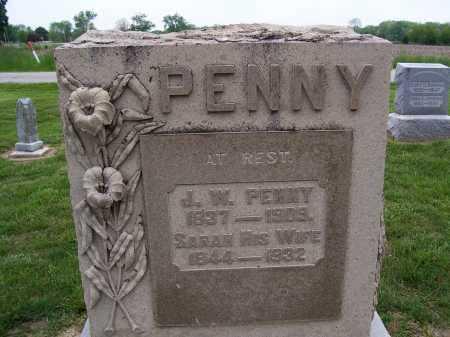 PENNY, JOHN WESLEY - Miami County, Ohio   JOHN WESLEY PENNY - Ohio Gravestone Photos