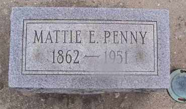 PENNY, MATTIE - Miami County, Ohio | MATTIE PENNY - Ohio Gravestone Photos