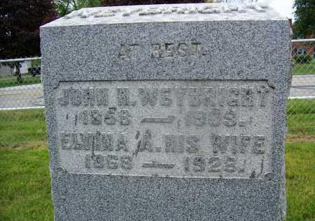 WEYBRIGHT, JOHN H - Miami County, Ohio | JOHN H WEYBRIGHT - Ohio Gravestone Photos