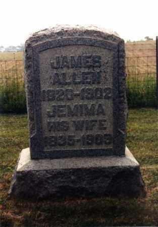 MERICAL ALLEN, JEMIMA - Monroe County, Ohio   JEMIMA MERICAL ALLEN - Ohio Gravestone Photos