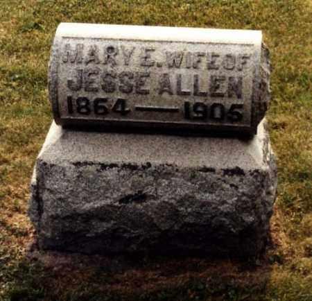 KING ALLEN, MARY ELLEN - Monroe County, Ohio | MARY ELLEN KING ALLEN - Ohio Gravestone Photos