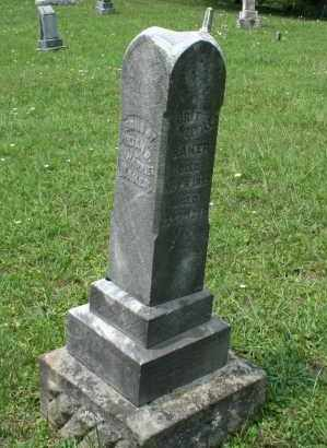 BAKER, MELVILLE? - Monroe County, Ohio   MELVILLE? BAKER - Ohio Gravestone Photos