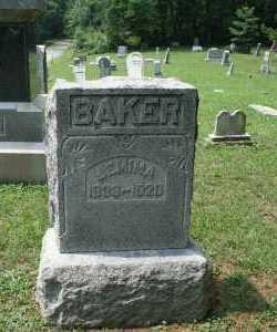 BAKER, JEMIMA - Monroe County, Ohio   JEMIMA BAKER - Ohio Gravestone Photos