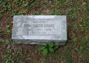 SMITH EHMKE, NINA - Monroe County, Ohio | NINA SMITH EHMKE - Ohio Gravestone Photos