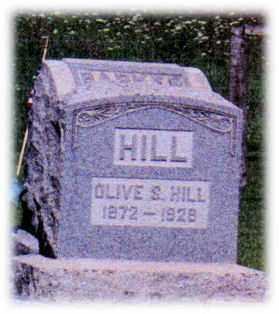 HILL, OLIVE - Monroe County, Ohio   OLIVE HILL - Ohio Gravestone Photos