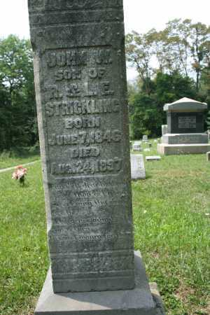 STRICKLING, JOHN W. - Monroe County, Ohio | JOHN W. STRICKLING - Ohio Gravestone Photos