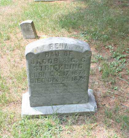 STRICKLING, RENA - Monroe County, Ohio | RENA STRICKLING - Ohio Gravestone Photos