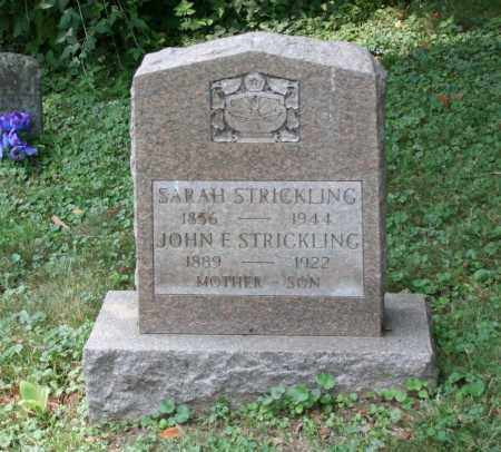 STRICKLING, JOHN E - Monroe County, Ohio   JOHN E STRICKLING - Ohio Gravestone Photos