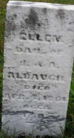 ALBAUGH, ELLEN - Montgomery County, Ohio | ELLEN ALBAUGH - Ohio Gravestone Photos