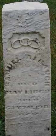 ALBAUGH, SAMUEL - Montgomery County, Ohio   SAMUEL ALBAUGH - Ohio Gravestone Photos
