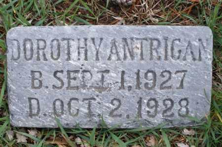 ANTRIGAN, DOROTHY - Montgomery County, Ohio   DOROTHY ANTRIGAN - Ohio Gravestone Photos
