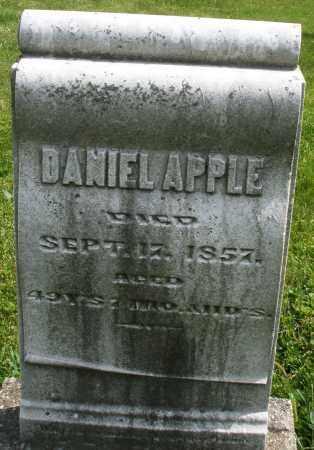 APPLE, DANIEL - Montgomery County, Ohio | DANIEL APPLE - Ohio Gravestone Photos