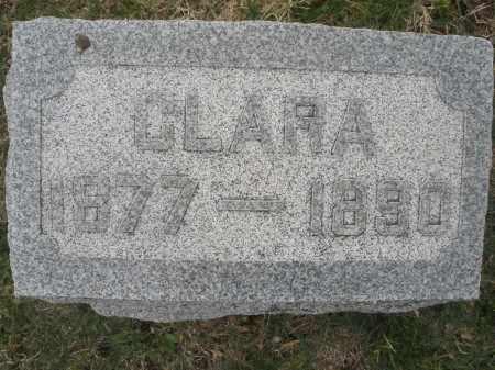 BAKER, CLARA - Montgomery County, Ohio   CLARA BAKER - Ohio Gravestone Photos
