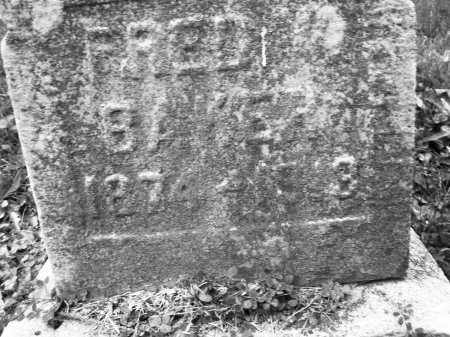 BAKER, FRED - Montgomery County, Ohio | FRED BAKER - Ohio Gravestone Photos