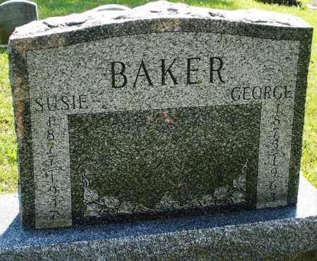 BAKER, GEORGE - Montgomery County, Ohio   GEORGE BAKER - Ohio Gravestone Photos