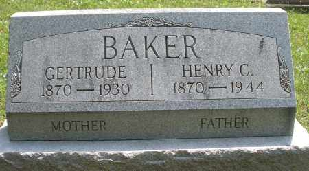 BAKER, HENRY C. - Montgomery County, Ohio | HENRY C. BAKER - Ohio Gravestone Photos
