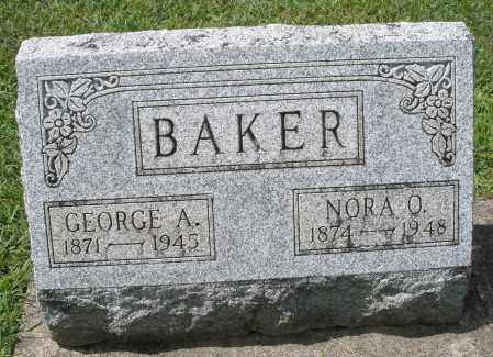 BAKER, GEORGE A. - Montgomery County, Ohio | GEORGE A. BAKER - Ohio Gravestone Photos