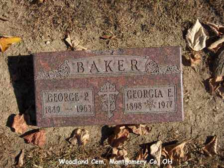 BAKER, GEORGIA - Montgomery County, Ohio | GEORGIA BAKER - Ohio Gravestone Photos