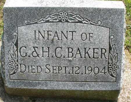 BAKER, INFANT - Montgomery County, Ohio | INFANT BAKER - Ohio Gravestone Photos