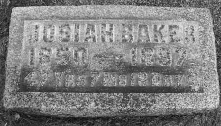 BAKER, JOSIAH - Montgomery County, Ohio   JOSIAH BAKER - Ohio Gravestone Photos