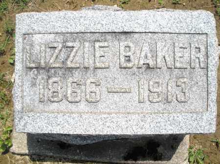 BAKER, LIZZIE - Montgomery County, Ohio   LIZZIE BAKER - Ohio Gravestone Photos