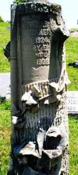 BAKER, MARY E. - Montgomery County, Ohio   MARY E. BAKER - Ohio Gravestone Photos