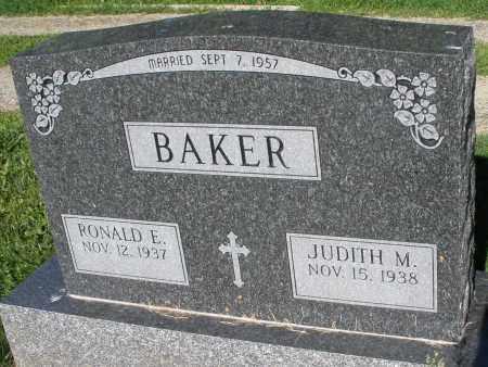 BAKER, RONALD E. - Montgomery County, Ohio   RONALD E. BAKER - Ohio Gravestone Photos
