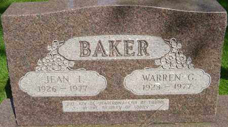 BAKER, JEAN - Montgomery County, Ohio | JEAN BAKER - Ohio Gravestone Photos